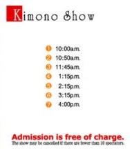 kimonoshow