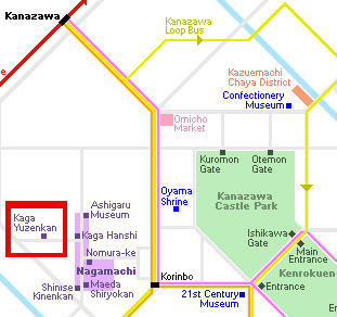 Yunzekan map